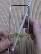 Technique du crochet � la fourche 14