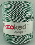 Hoooked Zpagetti - Bobine de 120 m environ - Mix Green