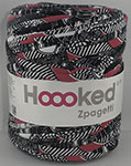 Hoooked Zpagetti - Bobine de 120 m environ - Mix Red