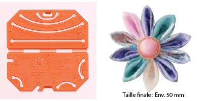 Confectionneur de fleurs Kanzashi - Clover - Pétale froncé Petite taille