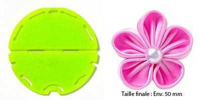 Confectionneur de fleurs Kanzashi - Clover - Pétale orchidée Petite taille