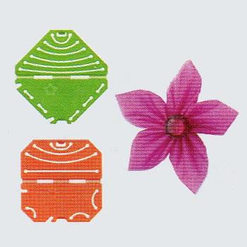 Confectionneur de fleurs Kanzashi , Clover