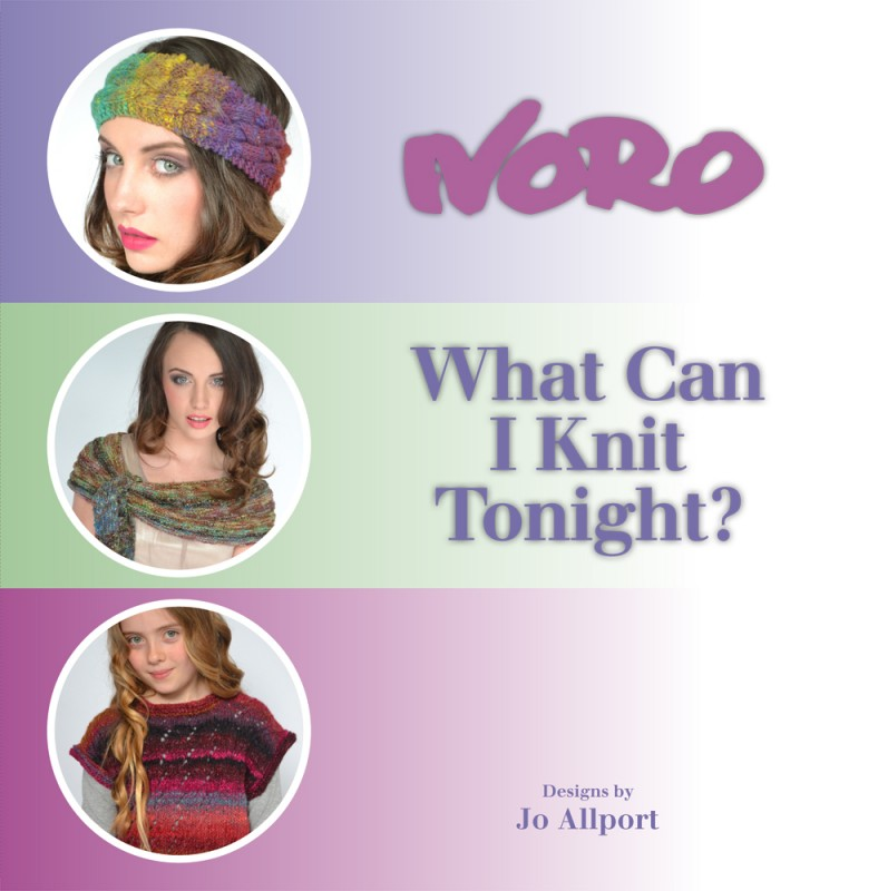 Modèles du catalogue Noro What Can I Knit Tonight ?