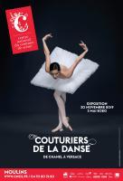 Exposition Couturiers de la danse, de Chanel à Versace du 30 novembre 2019 au 3 mai 2020 au Centre national du costume de scène à Moulins