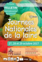 Journées nationales de la laine à Felletin du 27 au 29 octobre 2017