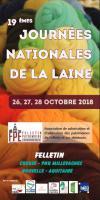 Journées nationales de la laine à Felletin du 26 au 28 octobre 2018