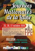 Journées nationales de la laine à Felletin du 25 au 27 octobre 2019