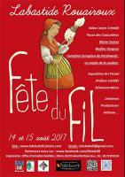 La Fête du Fil à Labastide Rouairoux 14 et 15 août 2017