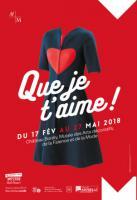 Exposition Que je t'aime ! L'amour dans les collections de mode, du 17 février au 27 mai 2018 au musée Borély à Marseille