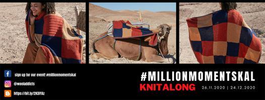 #MILLIONMOMENTSKAL - Le KAL de l'avent de WOOLADDICTS !
