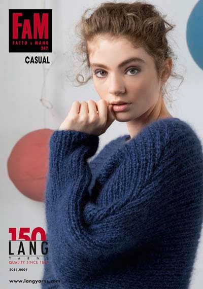 Modèles du catalogue Lang Yarns FAM 247 Casual