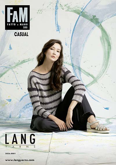Modèles du catalogue Lang Yarns FAM 252 Casual