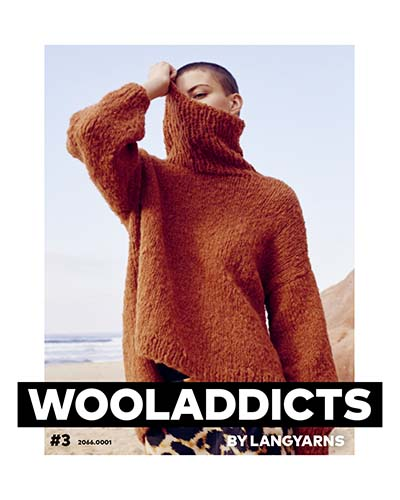 Modèles du catalogue WoolAddicts by Lang Yarns n°3
