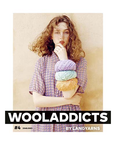 Modèles du catalogue WoolAddicts by Lang Yarns n°4