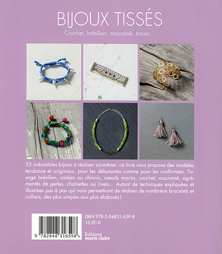 Bijoux Tisses Marie Claire