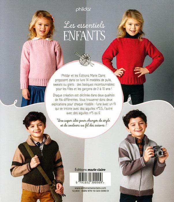 Les essentiels enfants, 14 modèles à tricoter pour les 2-10 ans - Marie 2b49aca5a8c