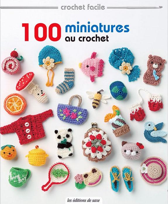 100 miniatures au crochet editions de saxe jeu de mailles. Black Bedroom Furniture Sets. Home Design Ideas