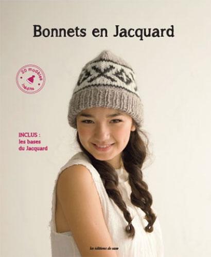96ceecfff678 Bonnets en jacquard - Editions de saxe   Jeu de mailles