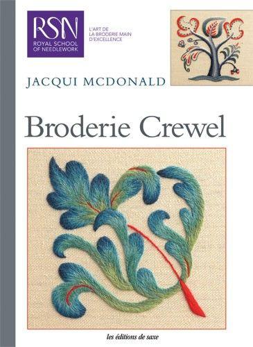 Broderie crewel editions de saxe jeu de mailles - Edition de saxe ...