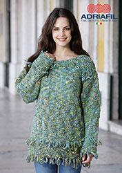 Kit à tricoter Adriafil Pull Honey en Etabeta
