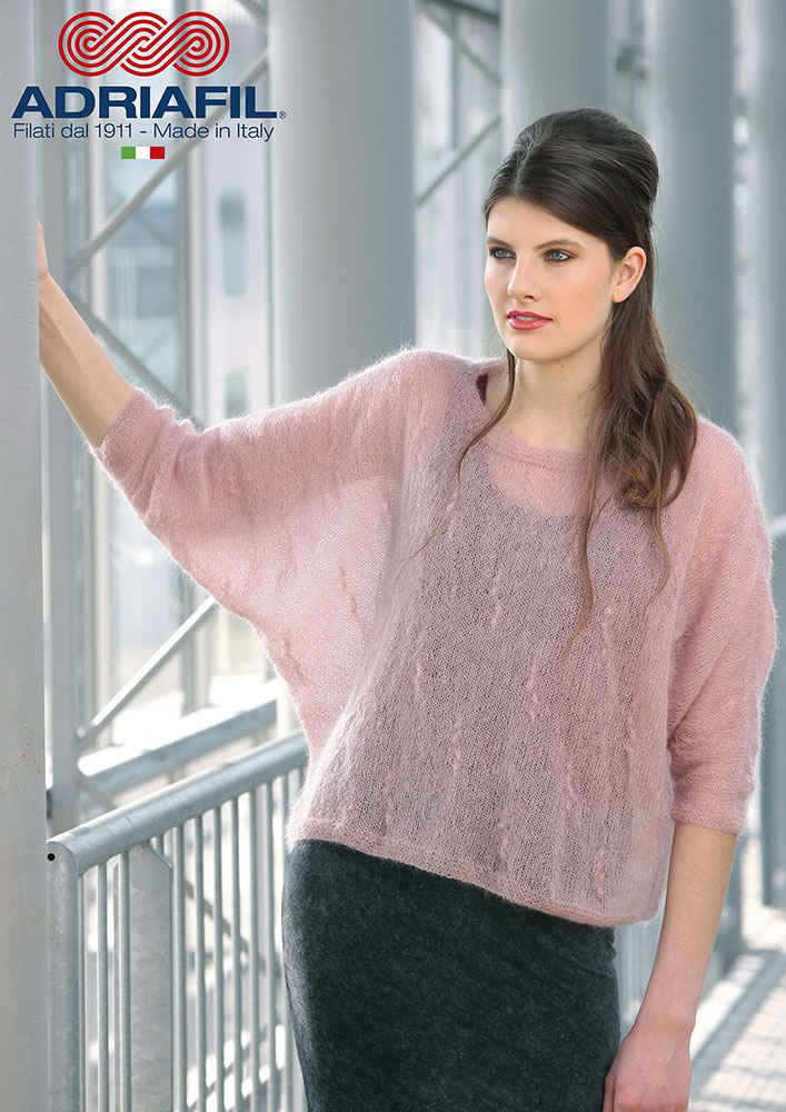 kit tricot mohair