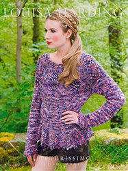 Kit à tricoter Louisa Harding Pull Maria en Pitturissimo