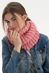 Kit à tricoter Plassard Snood en Mèche XXL