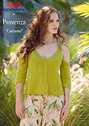 Kit à tricoter Adriafil Pull Curcuma en Provenza