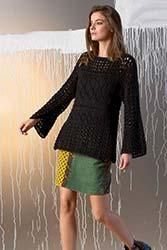 Kit à tricoter Lang Yarns Pull tunique en Amira