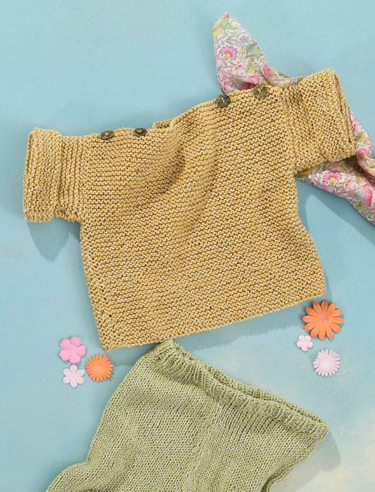 kits tricot layette