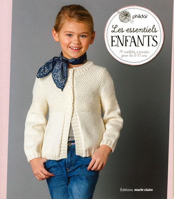 Les essentiels enfants, 14 modèles à tricoter pour les 2-10 ans - Marie 69f01acf955