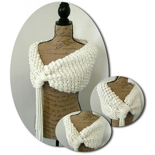 tuto woolly couvre paules au crochet jeu de mailles. Black Bedroom Furniture Sets. Home Design Ideas