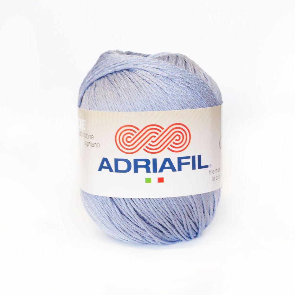 Pelote de laine  ADRIAFIL CHEOPE lilas n°57 100/% coton égyptien