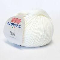 Adriafil Elisir - Pelote de 50 gr - 30 blanc