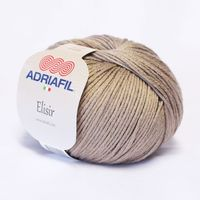 Adriafil Elisir - Pelote de 50 gr - 36 noisette