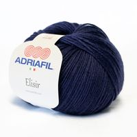 Adriafil Elisir - Pelote de 50 gr - 39 bleu nuit