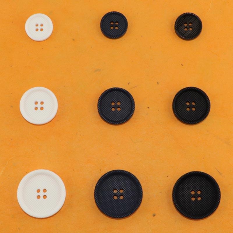 LLMZ No/ël Boutons Bois Assortis Color/és Boutons R/étro en Bois Formes Mixtes Boutons avec 2 Trous pour Couture Scrapbooking et Bricolage Ornement Fait /à La Main 150 Pi/èces