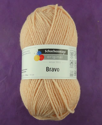 Schachenmayr Original Bravo pelote de 50 gr - Chair 08322 (coloris supprimé)