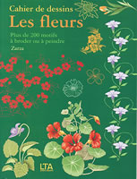 Cahier de dessins : Les fleurs - LTA