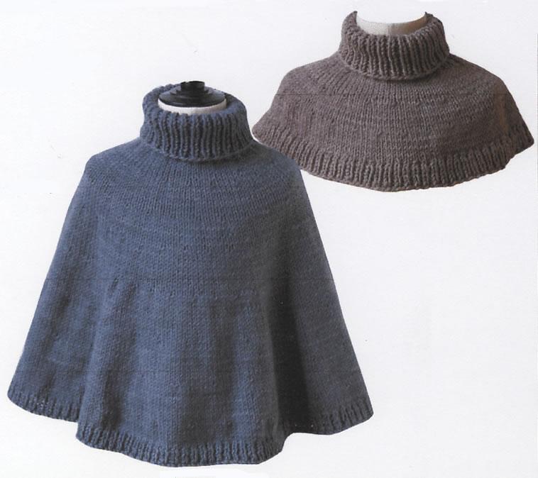patron tricot cape