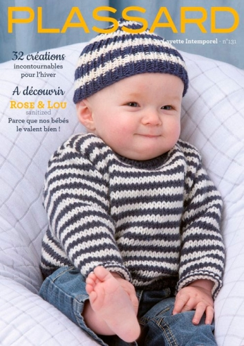 Modèles du catalogue Plassard n°131 Layette Intemporel