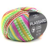 Plassard Gong Jacquard - Pelote de 50 gr - Coloris 214