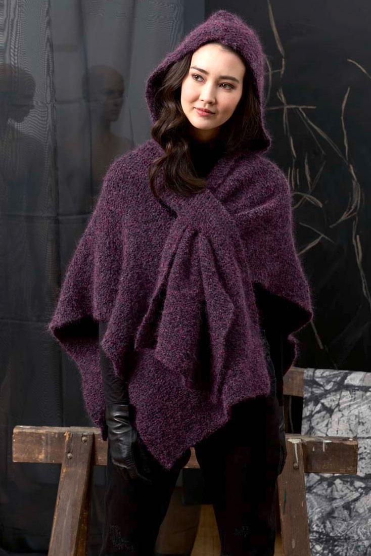 80cc523af6b Kit à tricoter Lang Echarpe à capuche en Yara