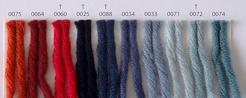 Nuancier Lang Yarns Cashmere Big 2