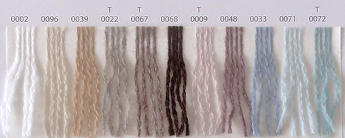 Nuancier Lang Yarns Cashmere Lace 1
