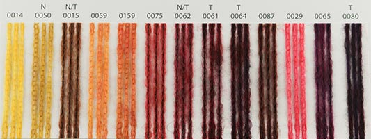 Nuancier Lang Yarns Nova 2