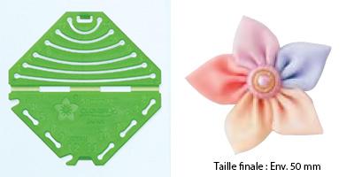 Confectionneur de fleurs Kanzashi - Clover - Pétale pointu Petite taille