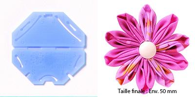 Confectionneur de fleurs Kanzashi - Clover - Pétale marguerite Petite taille