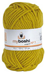 MyBoshi original n°1 - Pelote de 50 gr - 111 curry