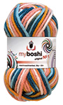 MyBoshi original n°1 Multicolor - Pelote de 50 gr - C7 Kingfisher